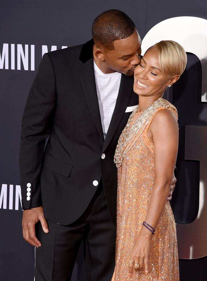 """**Will Smith and Jada Pinkett Smith**<br><br>  The """"I Am Legend"""" actor's proposal to his wife of over 20 years was surprisingly low-key, but that only serves to make it even more romantic.<br><br>  """"We were just lying there, going to sleep. I looked over at her, and I said, 'Hey, we might be real good married. Wassup? You wanna marry me?' Unplanned. No ring. Not the classic proposal. She said yes,"""" he told [*People*](https://people.com/archive/will-smiths-romance-guide-vol-63-no-7/