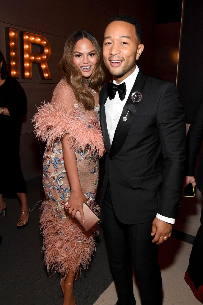 """**John Legend and Chrissy Teigen**<br><br>  If there's anyone you don't want to ruin your proposal, it's airport security. Luckily, for John Legend and Chrissy Teigen, it all worked out in the end.<br><br>  Appearing on [*Oprah's Next Chapter*](https://www.youtube.com/watch?v=7zduJ5S1-bw
