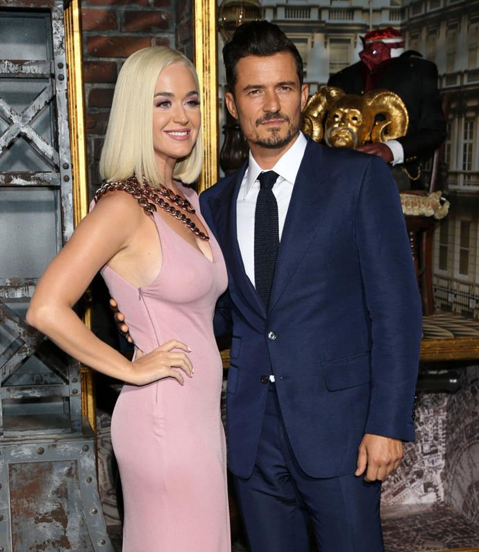 """**Orlando Bloom and Katy Perry**<br><br>  Orlanda Bloom's proposal to Katy Perry was yet another question-popping moment that didn't *quite* go to plan.<br><br>  Perry shared the details of [Bloom's very romantic, yet slightly hectic, Valentine's Day proposal](https://www.elle.com.au/celebrity/katy-perry-orlando-bloom-proposal-19974