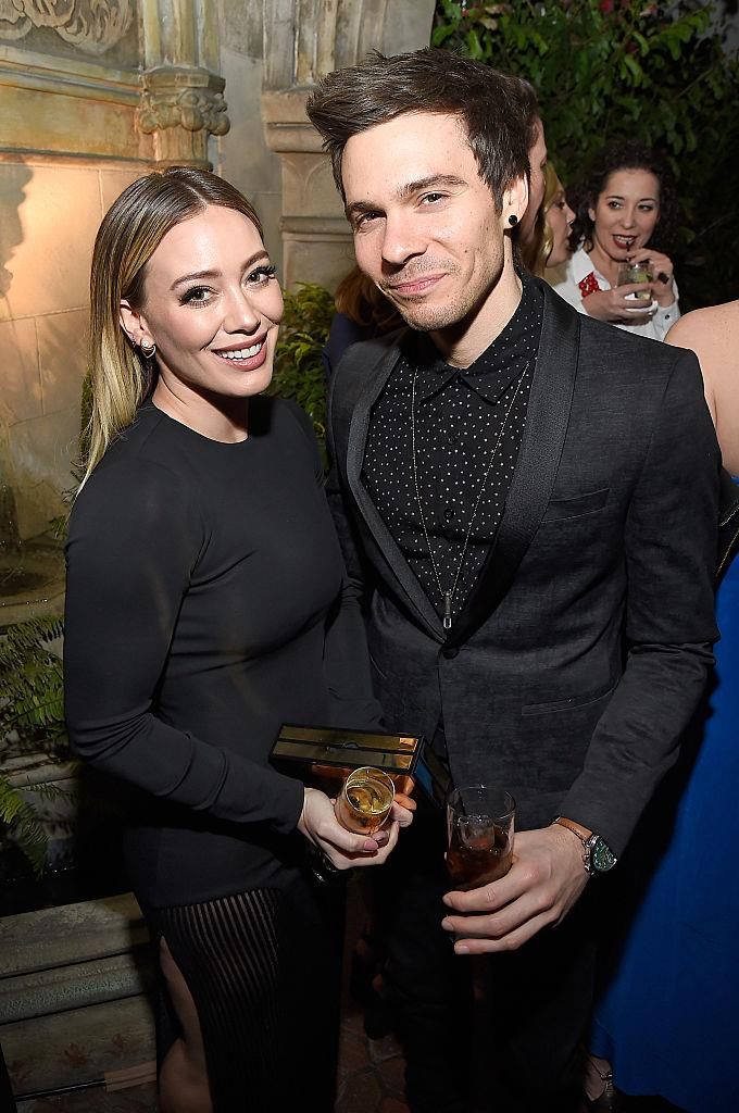 """**Hilary Duff and Matthew Koma**<br><br>  When it comes to storybook proposals, it doesn't get any more literal (or adorable) than musician Matthew Koma asking Hilary Duff to marry him.<br><br>  """"I came home from work on a random Tuesday, and he's like 'Let's go for a walk. Let's go check out this park,'"""" Duff said on *The Talk*.<br><br>  """"We were living in Williamsburg, and I was like 'I'm so tired.' We just started [watching] Game of Thrones, and I just wanted to eat dinner in bed and watch Game of Thrones. And he's like 'No, no, let's go on a walk.'""""<br><br>  The *Younger* actress told her now-husband that the only way he'd get her out of the house would be if she put her track pants on, and after a quick change, the two headed to the park.<br><br>  Once there, Koma gave Duff a book telling the story of their relationship, and when she flipped to the last page, she found a tiny compartment storing a [gorgeous (giant) engagement ring](https://www.elle.com.au/celebrity/hilary-duff-engagement-ring-20441
