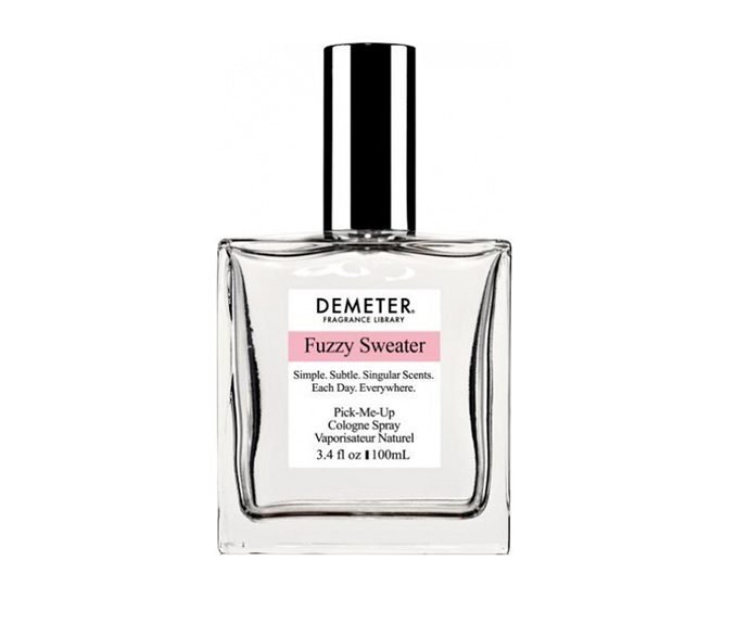 """**Fuzzy Sweater Cologne Spray, $60 by [Demeter](https://demeterfragrance.com/fuzzy-sweater.html