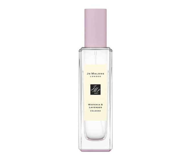 """**Wisteria & Lavender Cologne by Jo Malone London, $99 at [Myer](https://www.myer.com.au/p/jo-malone-london-wisteria-lavender-cologne-30ml?istCompanyId=84873db0-394f-434b-8958-29526fe5f03c&istFeedId=3dd6959f-3482-45a5-8a47-313fef9bbe16&istItemId=irtrillrx&istBid=t&gclid=CjwKCAjwg6b0BRBMEiwANd1_SDHXL-U3K7k4HtD7OdrFpJ_MTBoNVcfI-T07MnFXvd9VZybGtQQfjRoCygQQAvD_BwE&gclsrc=aw.ds