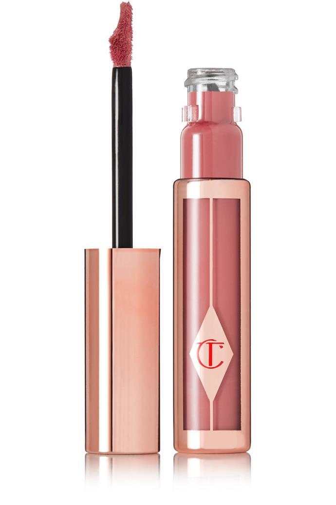 "**Lipstick**<br><br>  Hollywood Lips Matte Contour Liquid Lipstick by Charlotte Tilbury, $33.60 at [NET-A-PORTER](https://fave.co/2JL2C1S|target=""_blank""|rel=""nofollow"")."