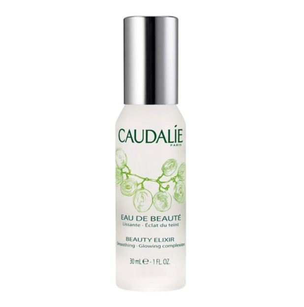 """**Setting Spray**<br><br>  Beauty Elixir by Caudalie, $25 at [Sephora](https://fave.co/3aMwU0m