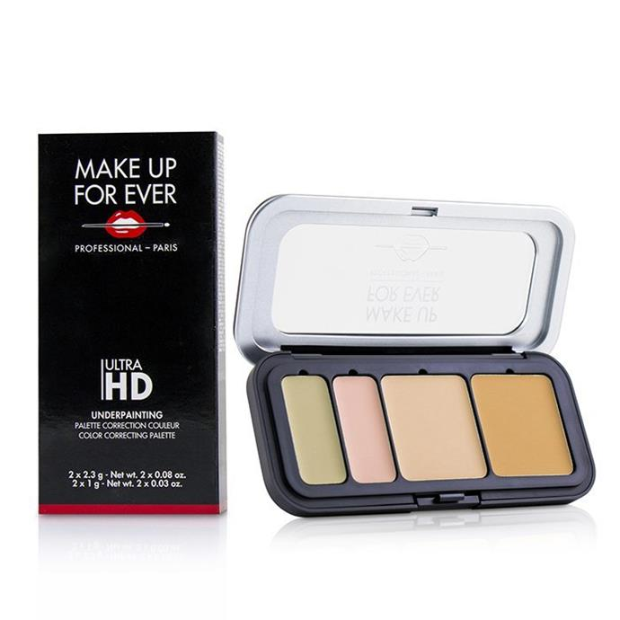 """**Colour Corrector**<br><br>  Ultra HD Underpainting Color Correcting Palette by Make Up For Ever, $78.95 at [Cosmetics Now Australia](https://buy.cosmeticsnow.com.au/iteminfo/make-up-for-ever-ultra-hd-underpainting-color-correcting-palette-no25-light-6g?ad_type=pla&target_id=634007348594&ad_id=420155298689&gclid=CjwKCAjwg6b0BRBMEiwANd1_SFUG0auT6xe3LaCIiLEylONA_HuNf1aU-IjUPIQcHHTyc662HkfvABoCZ7UQAvD_BwE