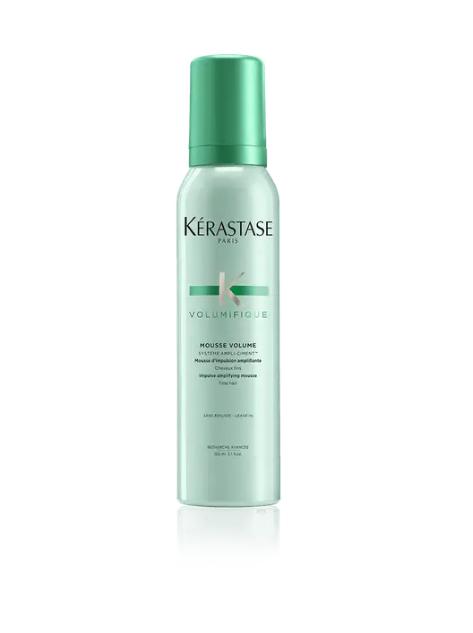 "**Hair**<br><br>  Mouse Volumifique by Kérastase, available via salon location search on [Kerastase.com](https://www.kerastase.com/products/volumifique/mousse-volumifique|target=""_blank""|rel=""nofollow"")."