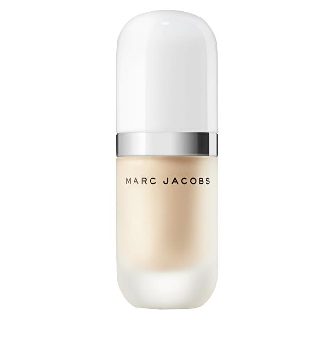 """**Highlighter**<br><br>  'Dew Drops' Coconut Gel Highlighter by Marc Jacobs Beauty, approximately AUD $74.80 at [Marc Jacobs Beauty](https://fave.co/2x5NwS6