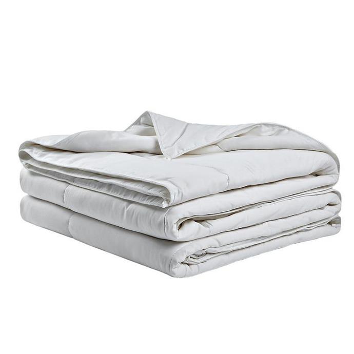 "**The Eco-Friendly Blanket** <br><br> For those after a more sustainably-produced option, this bamboo quilt from Ettitude is perfect for both warmer nights and your eco footprint. <br><br> *Bamboo Whitehaven Quilt/Duvet, $185 at [Ettitude](https://www.ettitude.com.au/products/bamboo-whitehaven-quilt-duvet?variant=51547916692&gclid=Cj0KCQjw4dr0BRCxARIsAKUNjWTsV0-QEgOVtXfzqS-H2H_0pw2gChL1AyIKue3THyAJK9H-AiPGywEaAkS4EALw_wcB|target=""_blank""