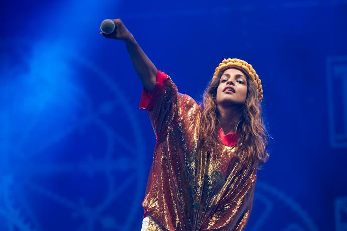 Singer M.I.A. has come out as against vaccines.
