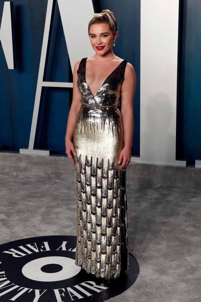 Pugh at the 2020 *Vanity Fair* Oscars Party.