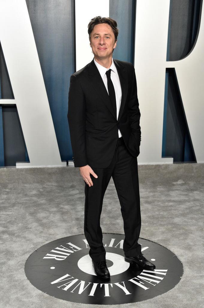 Braff at the 2020 *Vanity Fair* Oscars Party.