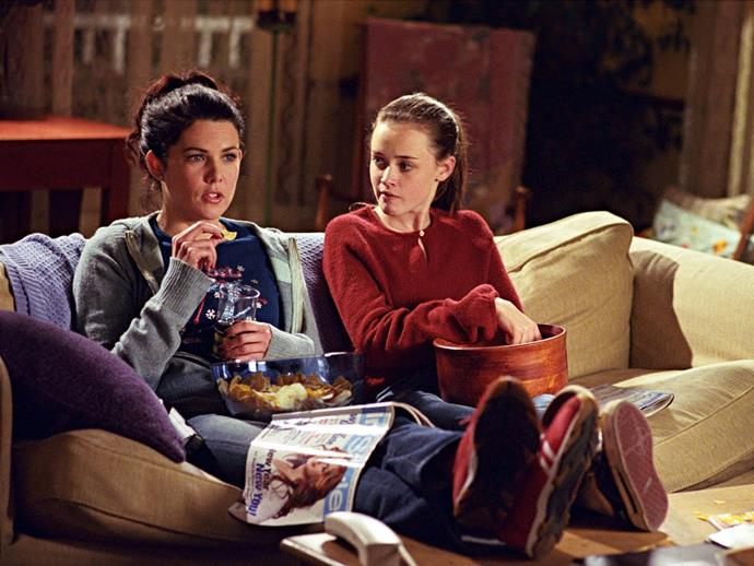**6.** ***Gilmore Girls***<br><br>  Honestly, this show gets better with each re-watch. While most high school dramas offer OTT storylines and unbelievable plot points, *Gilmore Girls* managed to make everyday dramas that we can actually relate to feel equal parts calming and exciting. From Rory and Lorelai's witty mother-daughter banter to the fact that almost every character was pretty likeable, this is one series that's definitely stood the test of time (questionable reboot aside). You can find all seven seasons on Netflix right now.