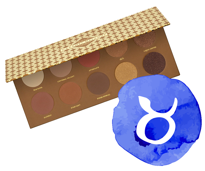 "**The sign: Taurus<br></br> The product: Caramel Melange Palette by Zoeva, $45 at [Sephora](https://www.sephora.com.au/products/zoeva-caramel-melange-palette/v/default|target=""_blank"")**<br></br> **The reason:** Taurus types are total foodies, so something of the gourmand variety (in this case, a craving-inducing caramel-inspired shadow palette) fits the bill perfectly. We have good news considering your aversion to change and, um, *slight* tendency to dig your heels in: this brand staple has been around since 2016, so it's safe to say it's here for the long haul. You can exhale now; cue relief."