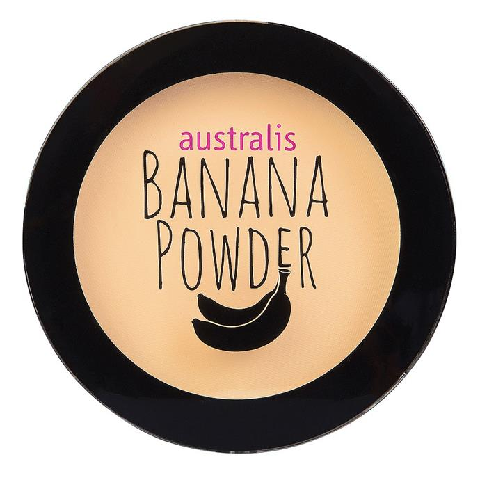 """**Banana Powder 1.1 g by Australis, $16.95 at [Priceline](https://fave.co/2RWOzL9