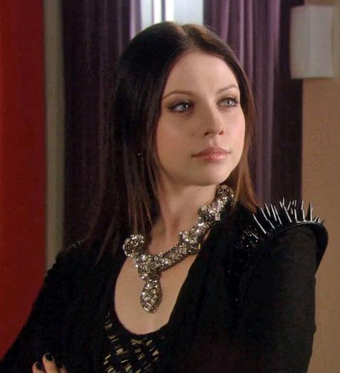 **Nate never dates Vanessa in the books... but he does date Georgina Sparks**<br><br>  Yet another couple we're struggling to imagine! While Nate and Vanessa had an earnest relationship in the show, it was never written in the original series. He did, however, date Georgina after meeting her rehab (oh, yeah, he's also a total stoner in the books).