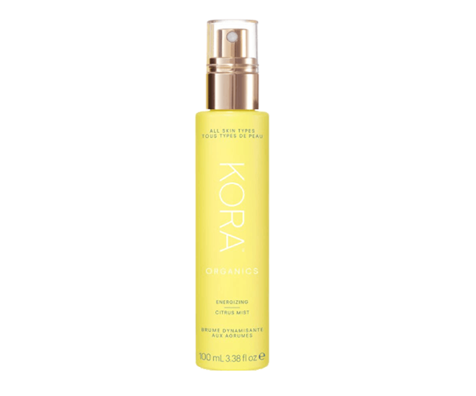 "**Energising Citrus Mist by Kora Organics, $42 at [David Jones](https://www.davidjones.com//21283794/Energizing-Citrus-Mist.html|target=""_blank"")**<br></br> Return your face to it's former glassy, glowy glory with a spritz of this refreshing, radiance-enhancing aloe leaf and citrus delight."