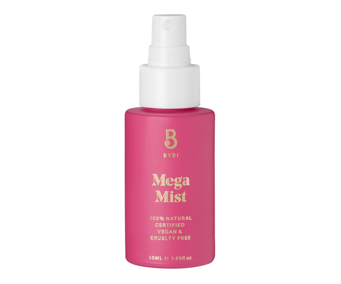 "**Mega Mist by BYBI Beauty, $42 at [Sephora](https://www.sephora.com.au/products/bybi-beauty-mega-mist/v/50ml|target=""_blank"")**<br> Ditch your arvo caffeine hit in favour of this hydrating hyaluronic acid-powered 3pm pick-me-up—dry skin will drink it up."
