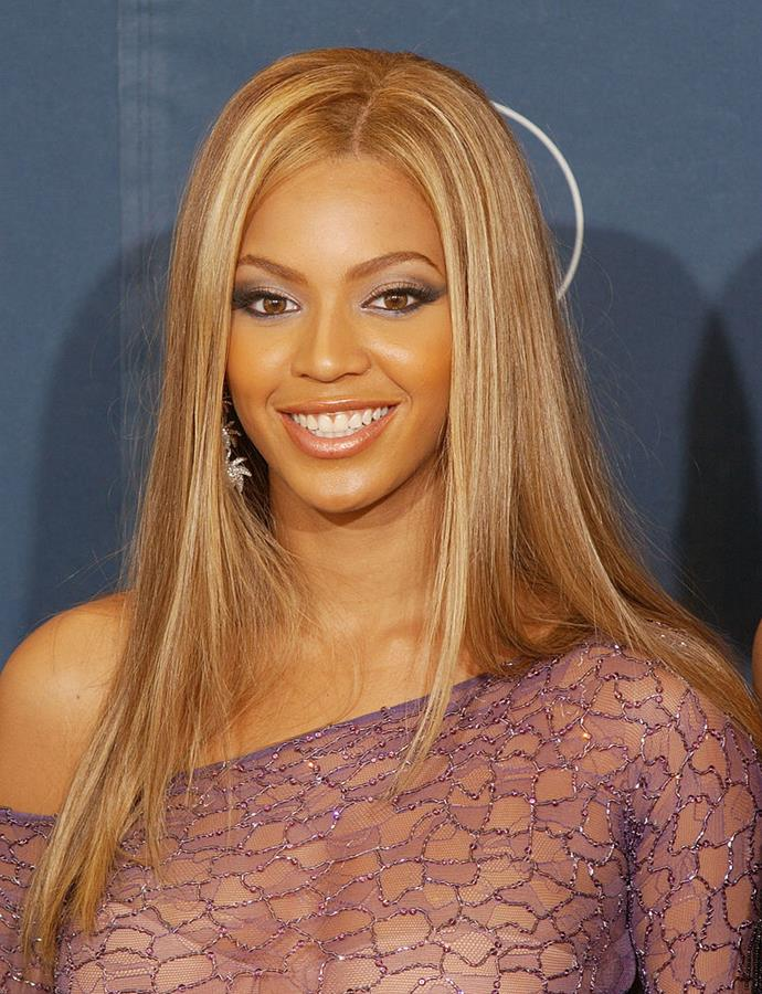 **Pin Straight Strands**<br><br>  **The celebrity muse:** Beyoncé, Avril Lavigne, Hilary Duff and more <br><br>  You know what happened in the 2000s? We all discovered straighteners, that's what happened. And while the style is technically timeless, there was something especially 'cool girl' about us 'experiencing' it in the early aughts.