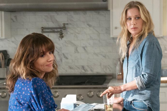 "***Dead To Me:*** **Season 2 (8/5/2020)**<br><br>  Picking up in the aftermath of that bloody backyard reveal, Jen and Judy struggle to hide a dark secret. With a surprising new visitor in town and Detective Perez hot on their heels, the stakes have never been higher.<br><br>  Check out the trailer for [*Dead To Me* season two](https://www.elle.com.au/culture/dead-to-me-season-2-australia-23389|target=""_blank"") at the top of the article."