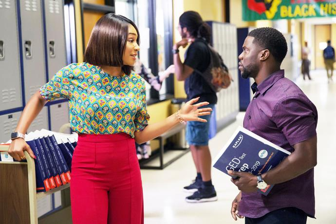 ***Night School*** **(16/5/2020)**<br><br>  Teddy Walker (Kevin Hart) is a successful salesman whose life takes an unexpected turn when he accidentally blows up his place of employment. Forced to attend night school to get his GED, Teddy soon finds himself dealing with a group of misfit students, his former high school nemesis and a feisty teacher (Tiffany Haddish) who doesn't think he's too bright.