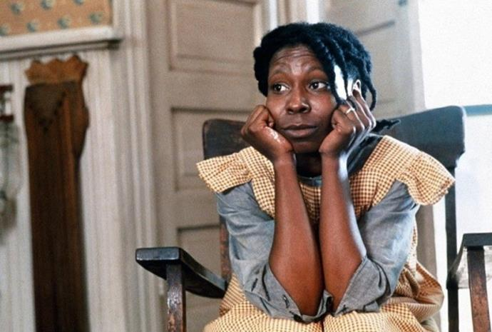 "***The Color Purple*** **(1/5/2020)**<br><br>  An epic tale spanning forty years in the life of Celie (Whoopi Goldberg), an African-American woman living in the South who survives incredible abuse and bigotry. After Celie's abusive father marries her off to the equally debasing ""Mister"" Albert Johnson (Danny Glover), things go from bad to worse, leaving Celie to find companionship anywhere she can. She perseveres, holding on to her dream of one day being reunited with her sister in Africa. Based on the novel by Alice Walker."