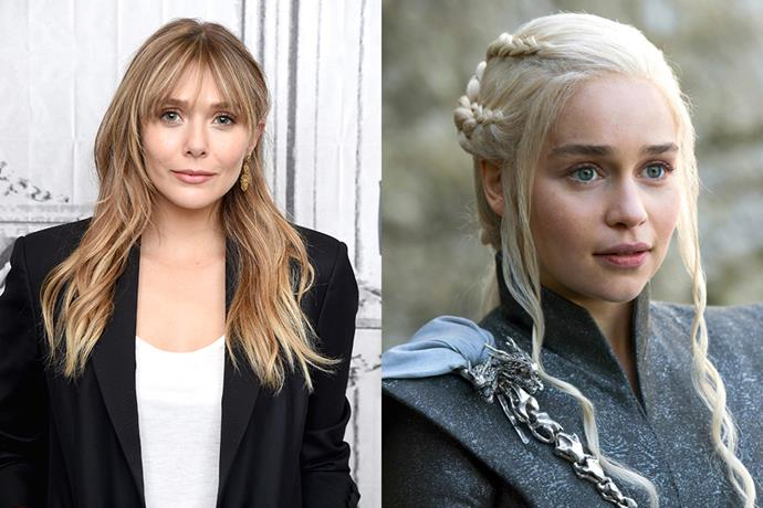 "*Avengers* star Elizabeth Olsen revealed to *[Buzzfeed](https://www.buzzfeed.com/noradominick/on-set-with-elizabeth-olsen|target=""_blank""