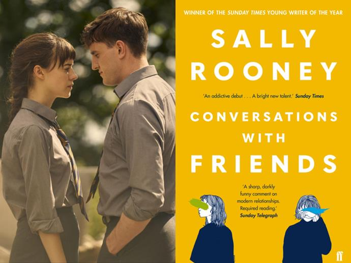 """**If you loved:** *Normal People*<br> **Read:** *Conversations With Friends* by Sally Rooney<br><br>  If you've raced your way through the """"Am I horny? Am I sad? Jk I am both"""" roller coaster that is the [TV adaptation of *Normal People*](https://www.syrupaus.com/entertainment/normal-people-sally-rooney-paul-mescal-daisy-edgar-jones
