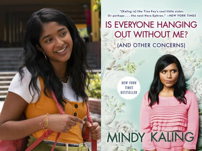 """**If you loved:** *Never Have I Ever*<br> **Read:** *Is Everyone Hanging Out Without Me? (And Other Concerns)* by Mindy Kaling<br><br>  Already binged the Mindy Kaling co-created and inspired [*Never Have I Ever* on Netflix](https://www.syrupaus.com/entertainment/never-have-i-ever-netflix-cast/