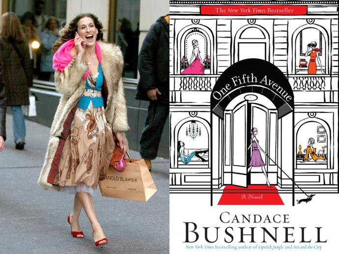 """**If you loved:** *Sex and The City*<br> **Read:** *One Fifth Avenue* by Candace Bushnell<br><br>  Can't get enough of Carrie Bradshaw and co.? Still appalled that [she gave Louise from St. Louis the wrong Louis Vuitton bag](https://www.harpersbazaar.com.au/fashion/sex-and-the-city-louis-vuitton-bag-20226
