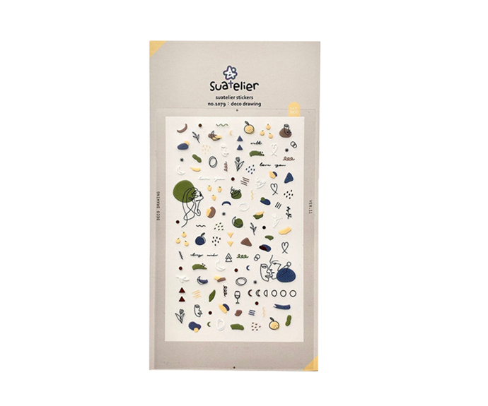 """**Deco Drawing Nail Art Stickers by Suatelier, $3.39 at [Etsy](https://www.etsy.com/au/listing/763298553/suatelier-stickers-love-blossom-deco?ga_order=most_relevant&ga_search_type=all&ga_view_type=gallery&ga_search_query=nail+stickers&ref=sc_gallery-1-1&plkey=8aa6f4fa427297bdc69a59ca5e91555d5b094c89%3A763298553 target=""""_blank"""" rel=""""nofollow"""")**<br></br> If you're into the idea of stickers, but don't want your aesthetic to appear *too* (ironically) polished, deco-style designs that look like you could have doodled them on yourself are the optimal option."""