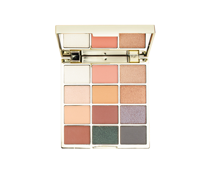 """**Drippin' Gold 12 Shade Eyeshadow Palette, $14.99 by [Designer Brands](https://www.dbcosmetics.com.au/drippin-gold-12-shade-eyeshadow-palette
