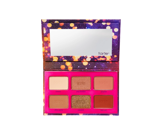 """**Tartelette Party Eyeshadow Palette by Tarte, $31 at [Sephora](https://www.sephora.com.au/products/tarte-tartelette-party-eyeshadow-palette/v/default