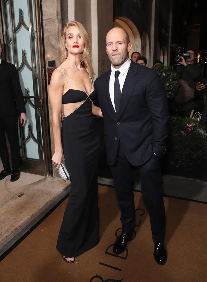 **Rosie Huntington-Whiteley** <br><br> Another pair who steer clear from the spotlight, these two are infamous for their ability to look chic every time they step out. Keeping it sophisticated in black, the pair's style remains both in sync and in style year after year.