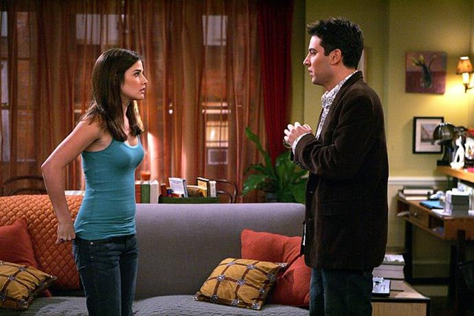 """**Robin and Ted from** ***How I Met Your Mother***<br><br>  Robin and Ted should never have persisted with their annoying relationship for as long as they did, never mind getting back together at the end to give us one of the [worst TV finales of all time](https://www.elle.com.au/culture/worst-tv-show-finales-22886