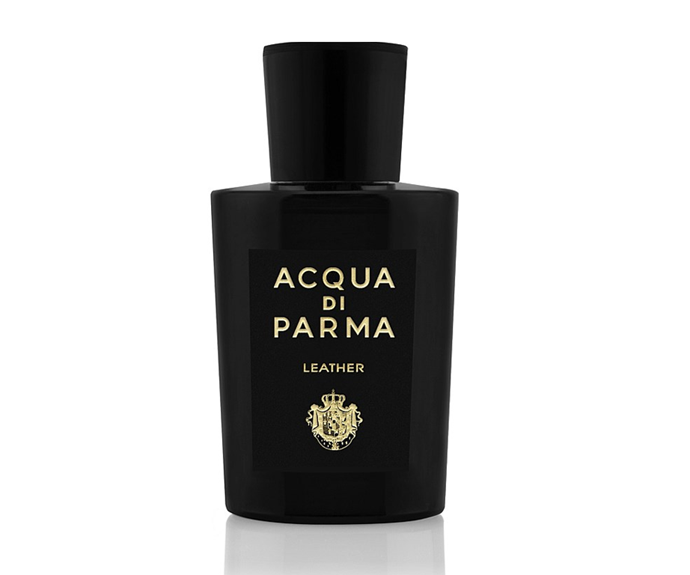 "**Colonia Leather Eau De Cologne Concentree by Acqua Di Parma, $371 at [David Jones](https://www.davidjones.com/beauty/fragrance/womens-perfume/23044418/Colonia-Leather-Eau-De-Cologne-Concentree-100ml-Spray.html|target=""_blank""