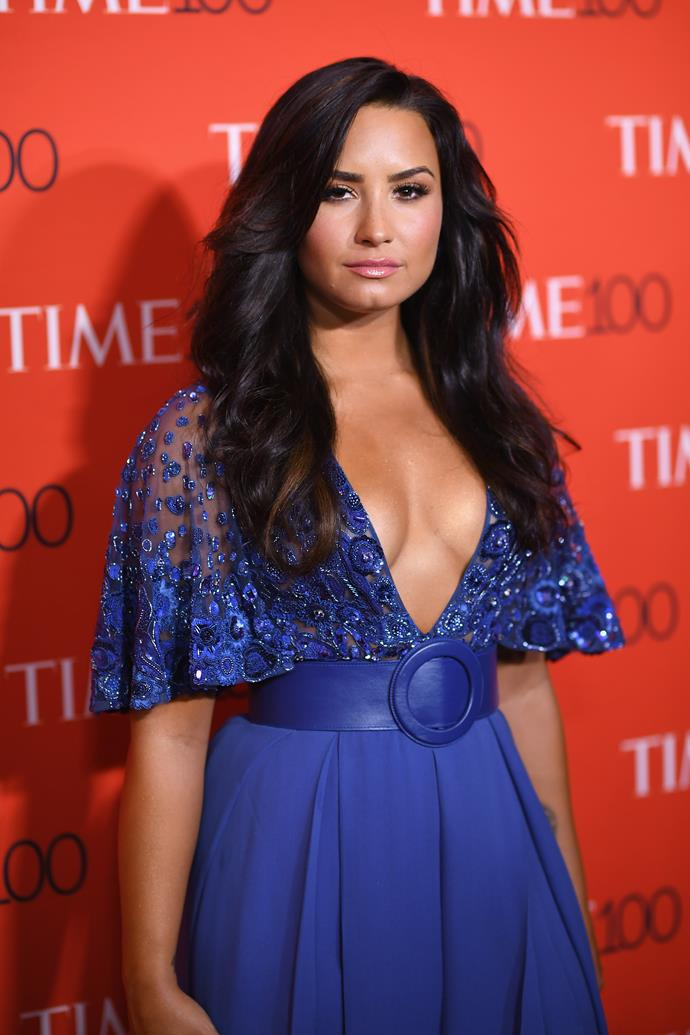 "**Demi Lovato** <br><br> Having previously spoken candidly about her own mental health struggles, Lovato announced the [launch of her initiative](https://www.instagram.com/p/B_NnrnnBYmk/|target=""_blank""