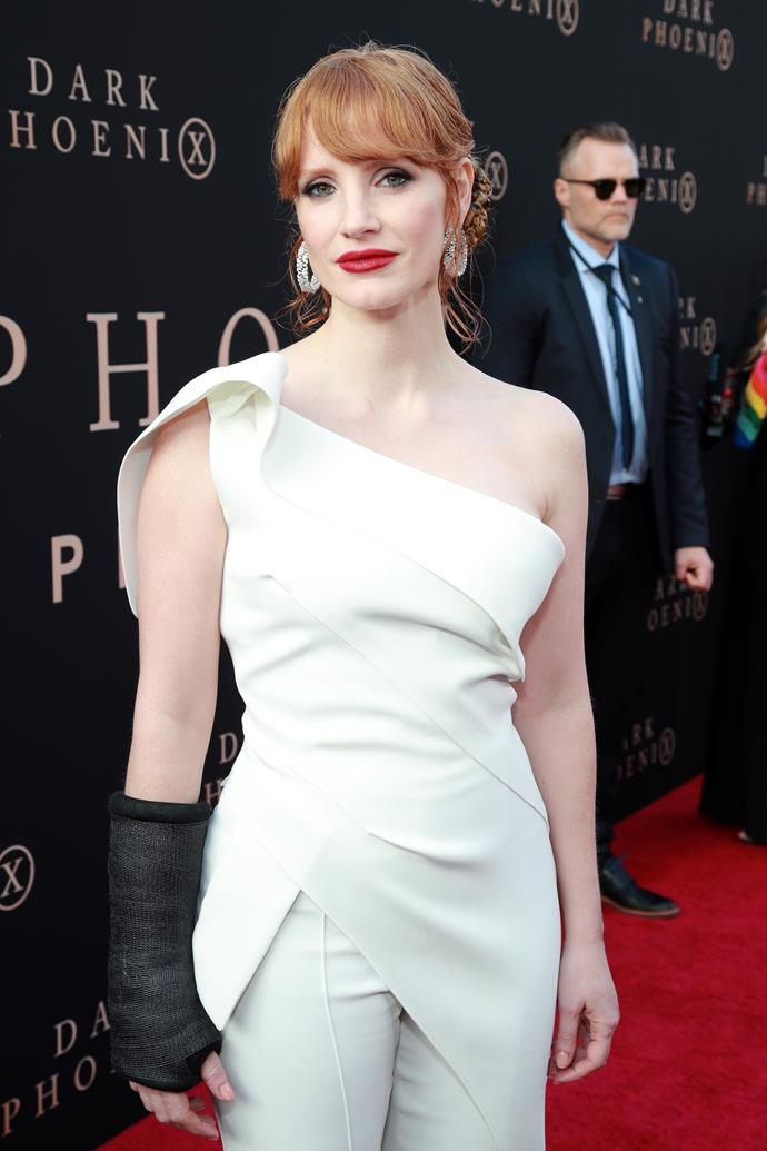 "**Jessica Chastain** <br><br> Lending her support in honour of National Stress Awareness Day on April 16, Chastain shared her support for those suffering with both stress and mental health via a post on [her Instagram](https://www.instagram.com/p/B_DMjpvBelB/|target=""_blank""