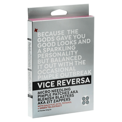 """Micro Needling Pimple Patches 8 pack by Vice Reversa, $39.95 at [Adore Beauty](https://fave.co/2T9NX5L