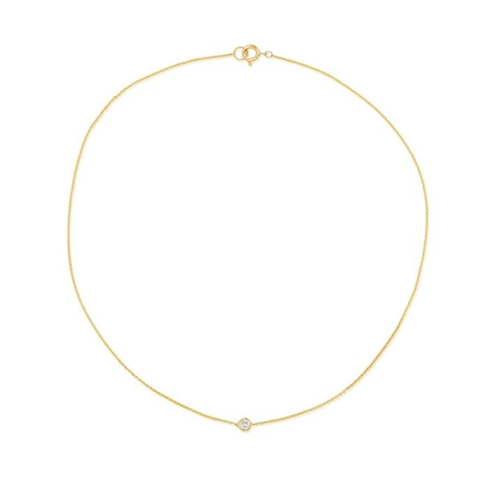 "'Tiny Diamond Anklet', $333.90 by [Stone and Standard](https://www.stoneandstrand.com/products/tiny-diamond-anklet?variant=52853794759|target=""_blank""
