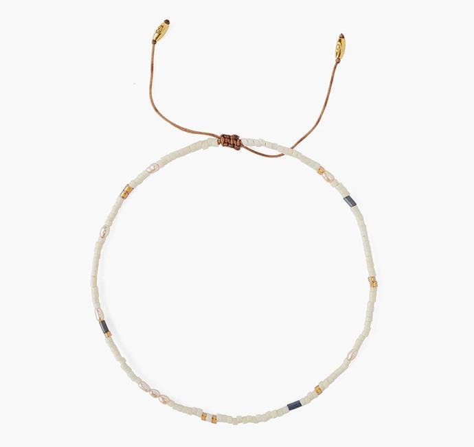 """'Cream Mix Freshwater Pearl Anklet', $85.40 at [Chan Luu](https://chanluu.com/collections/jewelry-anklets/products/cream-mix-freshwater-pearl-anklet