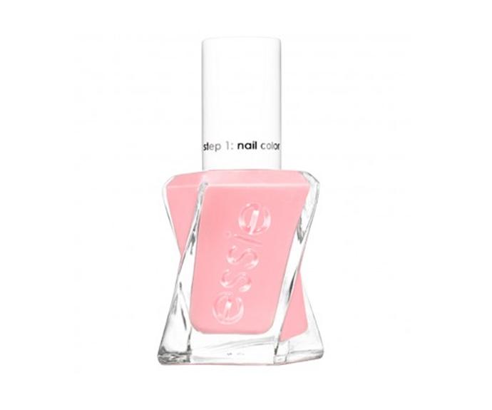 "**Gel Couture Nail Polish in Gossamer Garments by Essie, $16.95 at [Priceline](https://www.priceline.com.au/cosmetics/nails/nail-polish/essie-gel-couture-13-5-ml|target=""_blank""|rel=""nofollow"")**"
