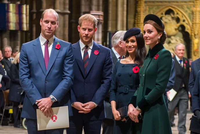 "**The Duke and Duchess of Cambridge (Prince William and Kate Middleton) and the Duke and Duchess of Sussex (Prince Harry and Meghan Markle)** <br><br> Though this rule has been relaxed a little in recent years, it's still very unlikely to see the British royal family sit down with journalists, unless it's a landmark event. <br><br> Most recently, Duchess Meghan Markle gave various interviews during ITV's 2019 documentary *Harry & Meghan: An African Journey* (following the birth of her son, Archie), while Duchess Kate Middleton appeared on U.K. morning show *This Morning* in May 2020 amid the [coronavirus pandemic](https://www.elle.com.au/news/coronavirus-pandemic-australia-23152|target=""_blank""