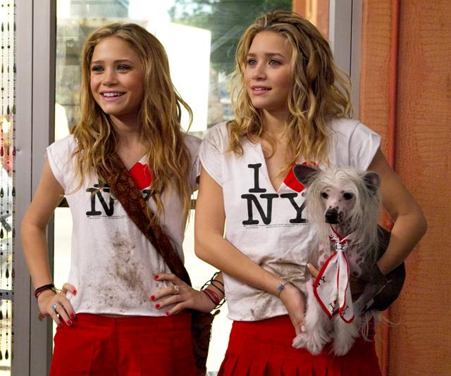 **Roxy and Jane Ryan from *New York Minute*** <br><br> In all fairness, every one of Mary-Kate and Ashley Olsen's early 2000's films were iconic, but there was something about their characters in *New York Minute* that won us over.  <br><br> Twin sisters, Roxy and Jane couldn't be more opposite. Roxy, is the punk-rock obsessive with a carefree spirit and Jane is the meticulous organiser with pressed suits and a seemingly uptight persona. However, on a trip to New York City, the pair deal with a series of mishaps (both legal and not-so-legal), but in order to get through it, they ultimately had to work together. These two were the epitome of twin energy.