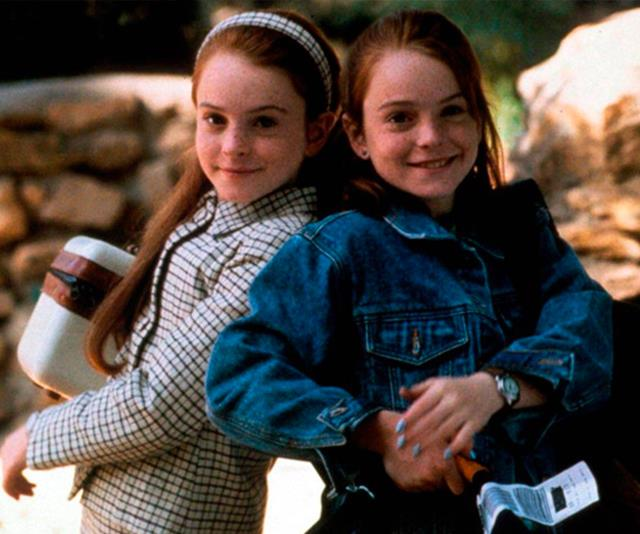 **Annie and Hallie from *The Parent Trap*** <br><br> Yes, we realise that Lindsay Lohan played twin sisters despite being one little person, but she certainly fooled us.  <br><br> Lohan played both Annie, the Londoner who travelled across the world just to attend a random camp in the U.S and Hallie, the all-American girl from California whose father had an impressive vineyard and a vindictive (yet relatable) 25-year-old fiancée. The sisters discover that they're twins, trade places and trick their parents in order to get to know them in the ultimate sister act.