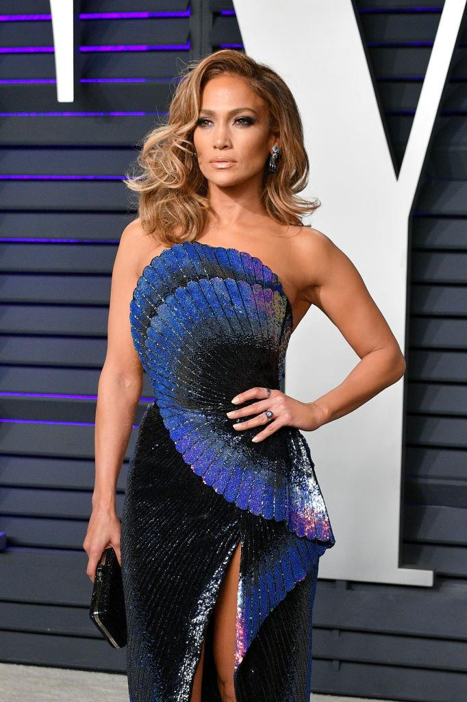 "**Jennifer Lopez**<br><br>  Even though she's widely regarded as one of the fittest women in Hollywood ([Jennifer Lopez's diet and exercise](https://www.harpersbazaar.com.au/health-fitness/jennifer-lopez-diet-exercise-17041|target=""_blank"") routine is no joke), the [*Hustlers*](https://www.elle.com.au/culture/hustlers-true-story-22410
