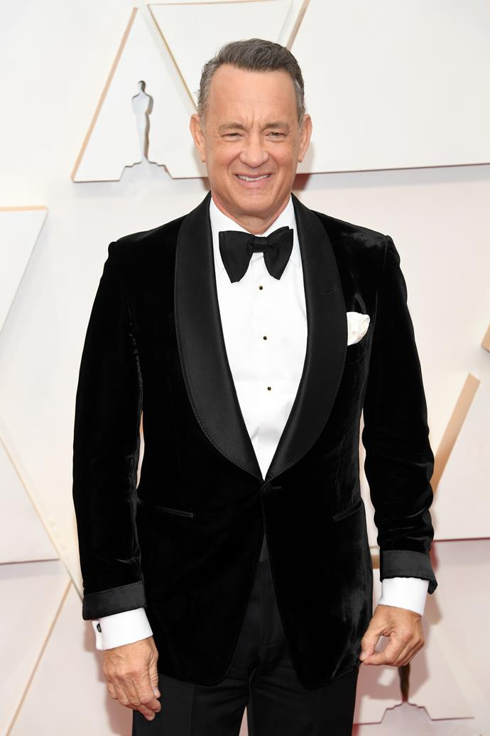 <strong>Tom Hanks</strong> <br> <br> Hanks may be Hollywood's most humble actor but he is also actual royalty. The *Forrest Gump* star, through his father's side, is a descendant of King John of England, who reigned from 1199 to 1216. Which makes him 24th cousin to Queen Elizabeth.