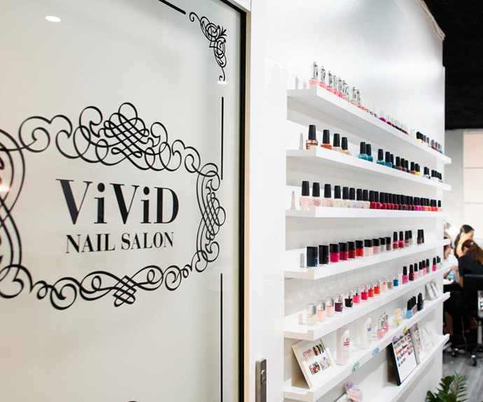 """**Where:** Vivid Nail Salon<br><br> **Why:** Located in the heart of Sydney's CBD it's as convenient as it is classy. Their classic polish change always does the trick, but it's the Luxury Manicure (a 60 minute treatment complete with an exfoliating gommage hand treatment) that keeps us coming back. <br></br> *Book your treatment by visiting [Vivid Nail Salon](https://vividnailsalon.com.au/treatments/