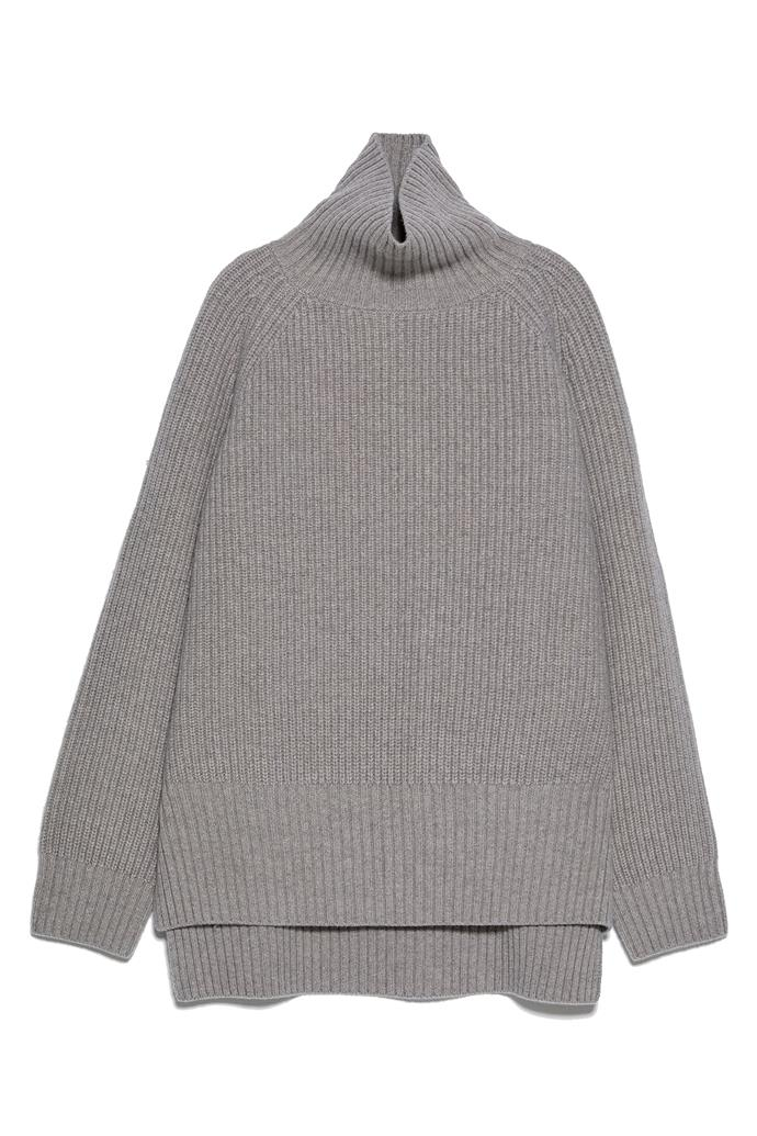 """**100% wool sweater by ZARA, $189 at [ZARA](https://fave.co/2XwEF50
