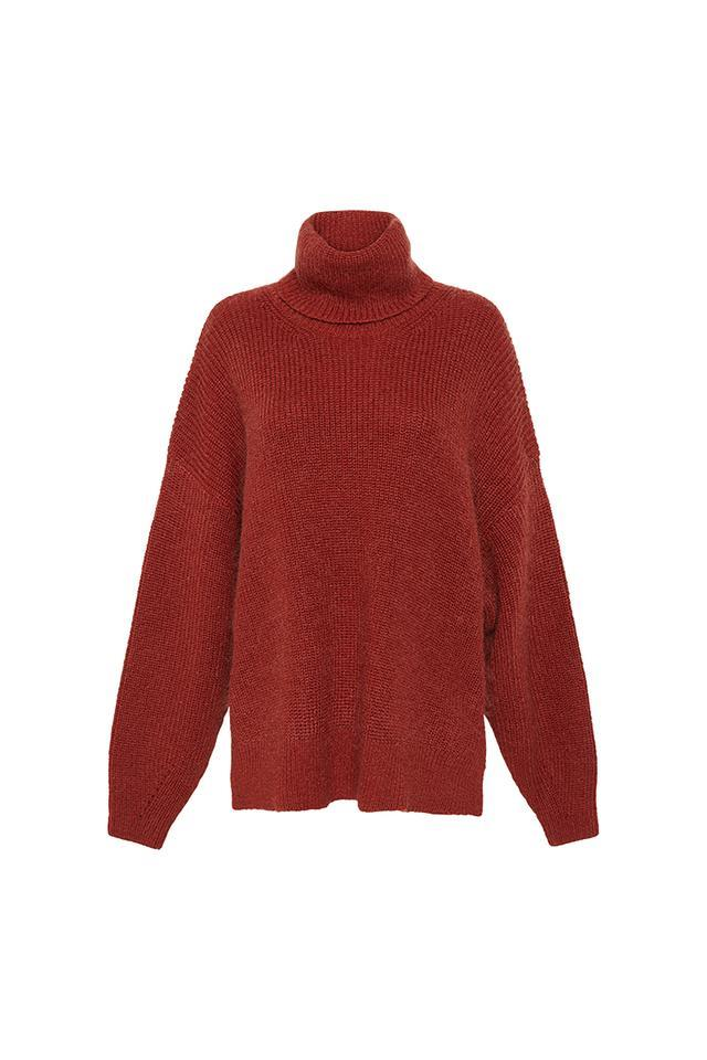 """**'Halley' turtleneck by CAMILLA AND MARC, $350 at [CAMILLA AND MARC](https://fave.co/3eksFdA