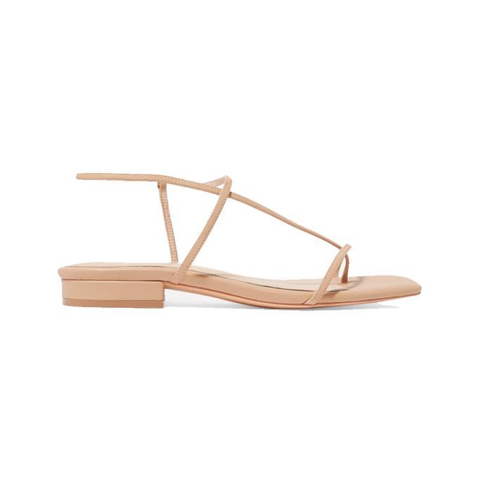"**Summer sandals**<br><br> Sandals by Studio Amelia, $308 at [NET-A-PORTER](https://www.net-a-porter.com/en-au/shop/product/studio-amelia/1-2-leather-sandals/1173804|target=""_blank""|rel=""nofollow"")."